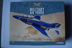 Corgi Blue Angels F-4J Phantom