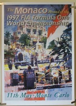 Original 'Dexter' Monaco 1997 Poster