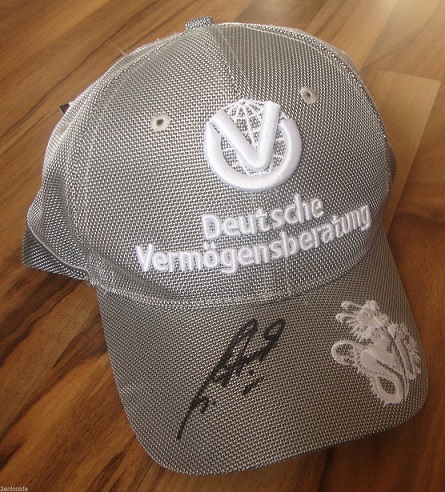 Schumacher DVAG Signed Cap