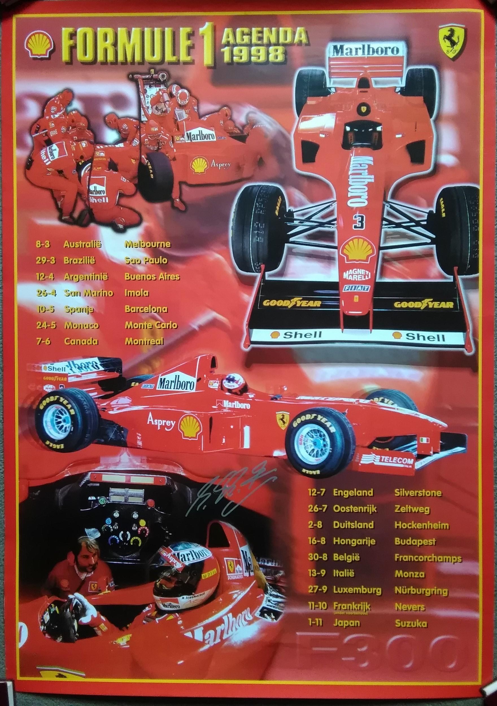 Ferrari-Shell 1998 Poster