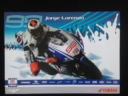 Jorge Lorenzo Team Poster