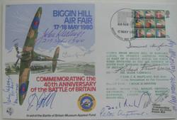 Multi Signed Biggin Hill FDC