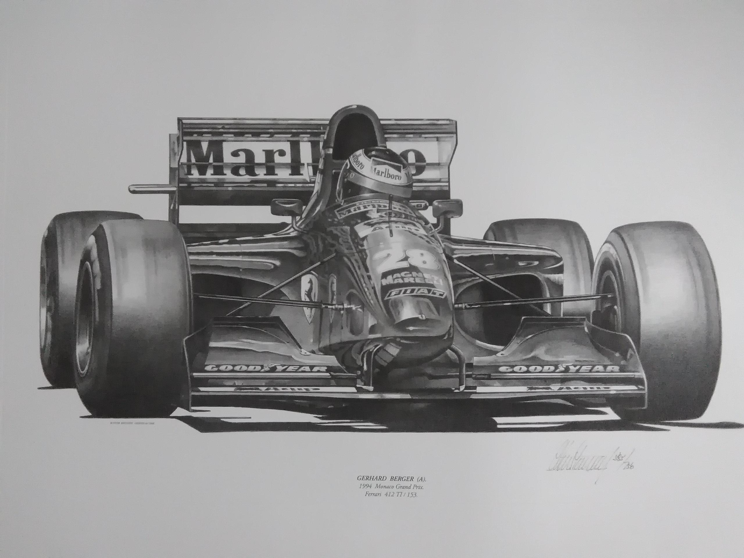 Gerhard Berger-Ferrari-Monaco 1994