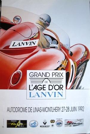 GP L'Age D'or Lanvin Montlhery 1992