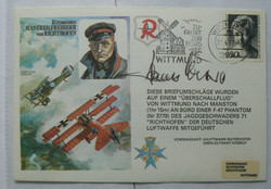 Johannes Wiese Signed First Day Cover