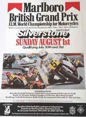 Marlboro British GP Silverstone 1982
