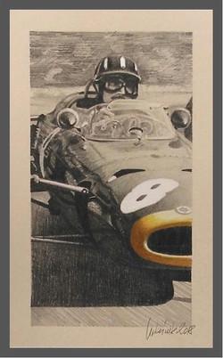 Graham Hill BRM P261 Monaco '64