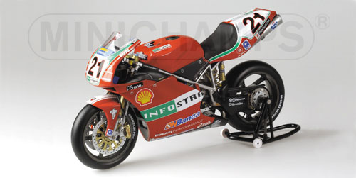 Troy Bayliss 2001 WSB Ducati