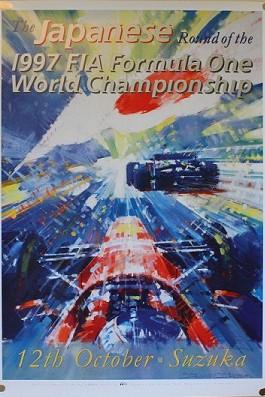 1997 Japanese GP Poster