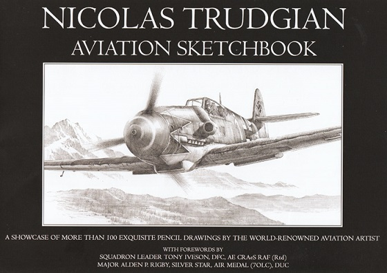Nicolas Trudgian Aviation Sketchbook