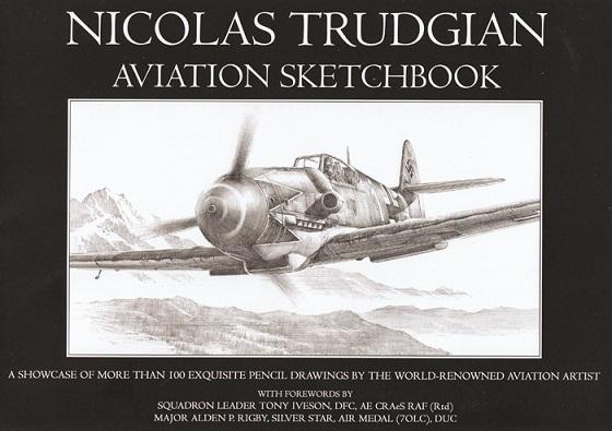 Nicolas Trudgian Aviation Sketchbook