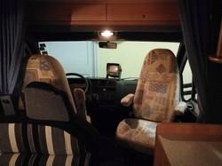 Turnable seats