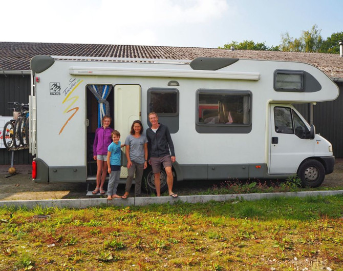 How to: Europe in a Campervan with kids!