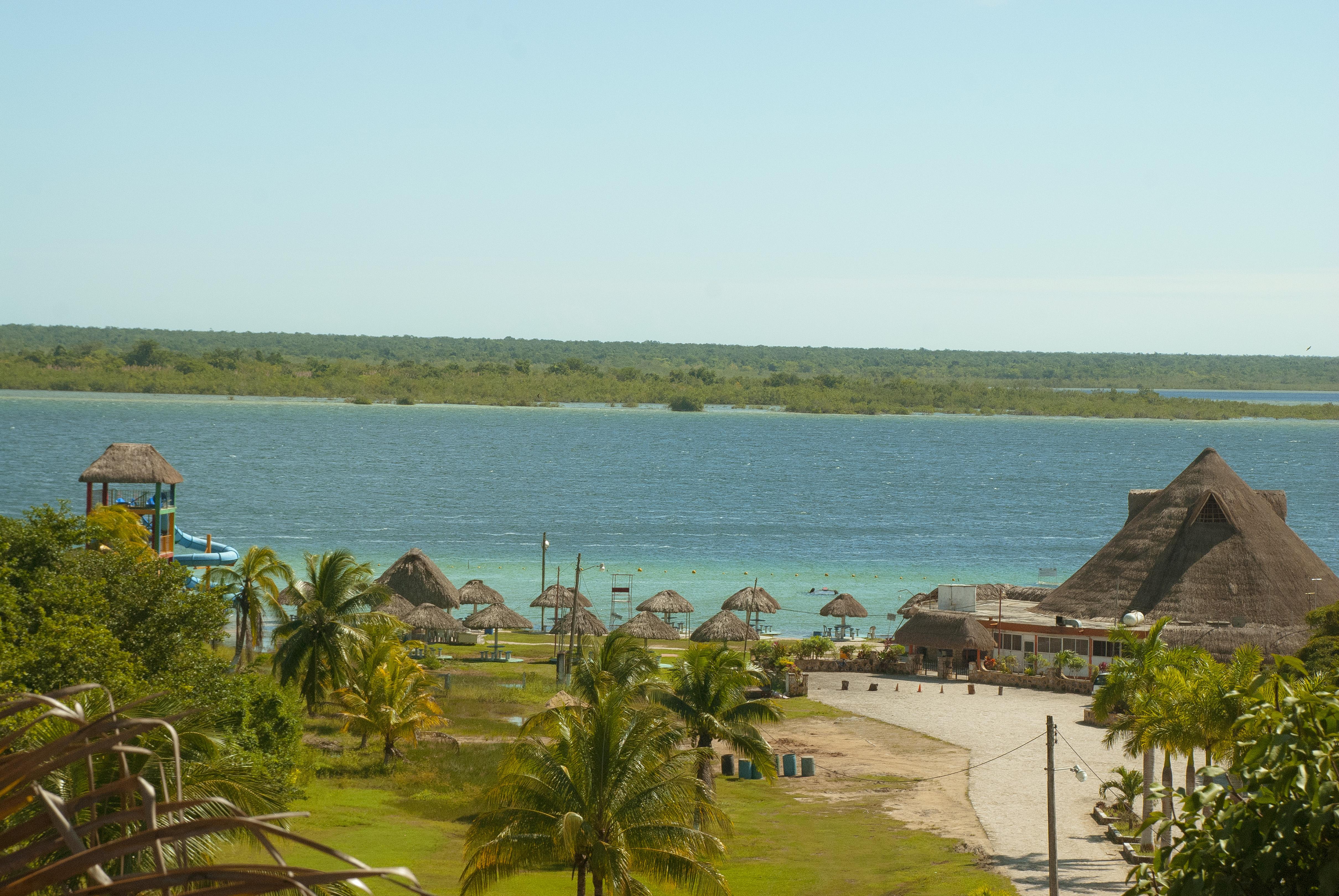 Vista panorámica a la laguna 7 colores