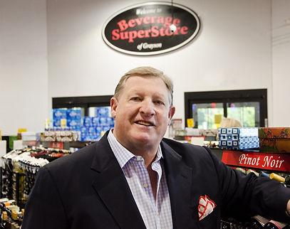 Richard Tucker, owner of Beverage Superstore of Grayson.