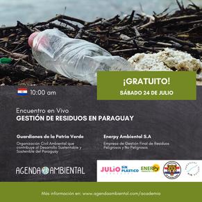 Charla en vivo: Gestión de residuos en Paraguay