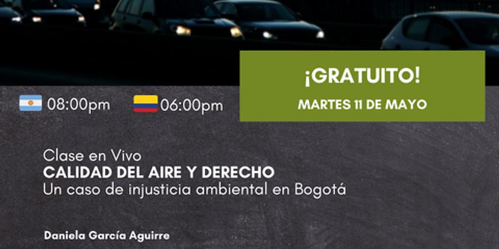 Calidad del aire y derecho: un caso de injusticia ambiental en Bogotá.