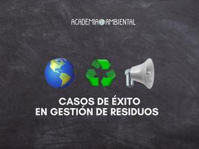 Casos de éxito en gestión de residuos con un gran panel