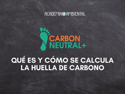Qué es y cómo se calcula la huella de carbono