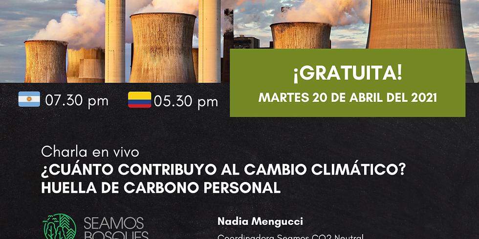 👑 ¿Cuánto contribuyo al cambio climático? Huella de carbono personal