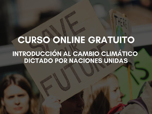 Curso de ONU: Introducción al Cambio Climático