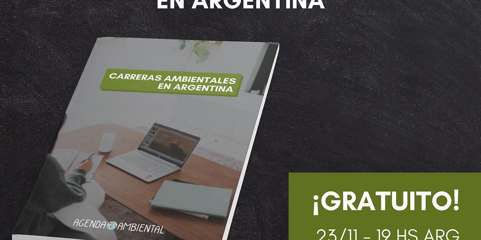 Informe Carreras Ambientales en Argentina