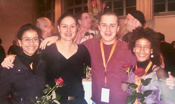 Töchter des Komponisten mit Alexandra und Janis