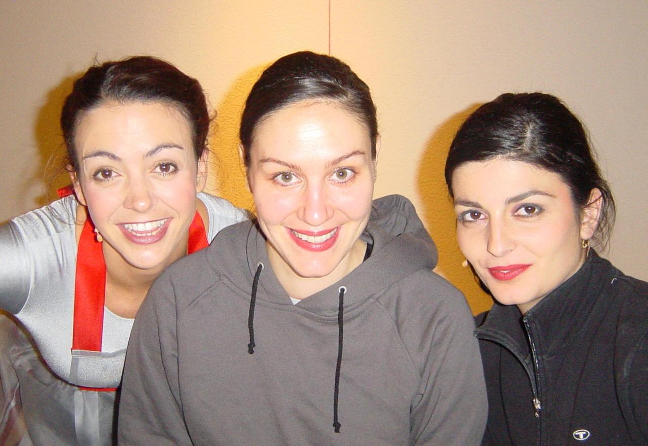 Elena, Barbara, Alexandra