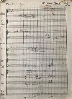 001 Romeo und Julia Partitur Orchester T