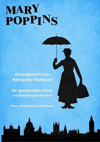 Mary Poppins Titelbild Chor und Piano un