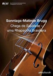 Matinée-Konzert,_Chega_de_Saudade_Titel.