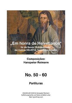 Em honra de Helvetianos Partituras Titel