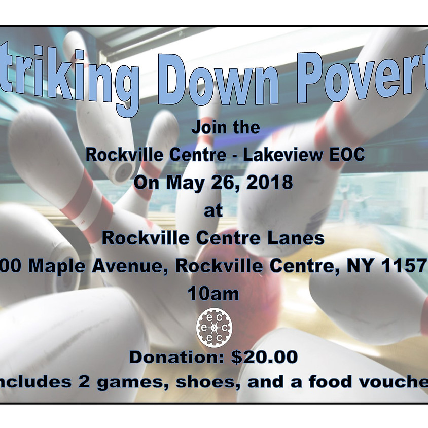 Rockville Centre/Lakeview : Striking Down Poverty (1)
