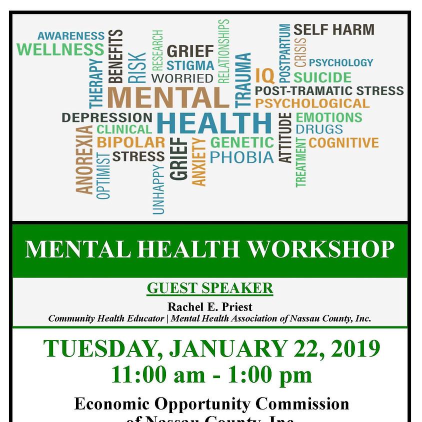 MICHC Mental Health Workshop