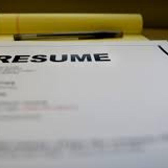 JOB READINESS ZOOM WORKSHOPS : RESUME CREATION