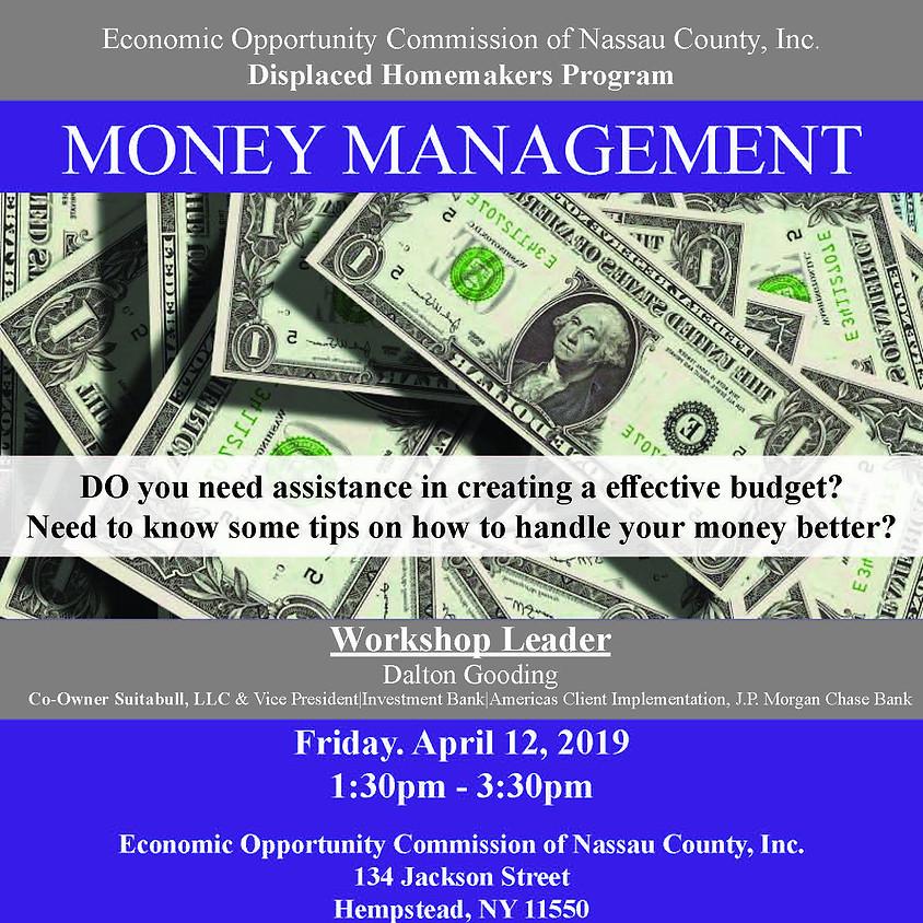 DHP Money Management & Financial Literacy 4-12-19