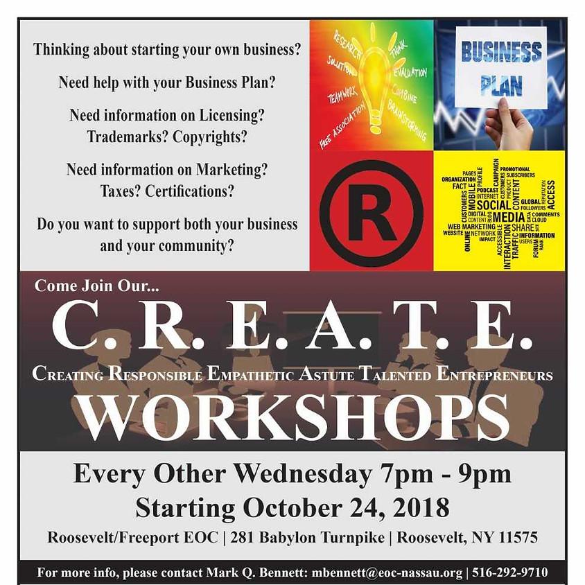 C.R.E.A.T.E. Workshops