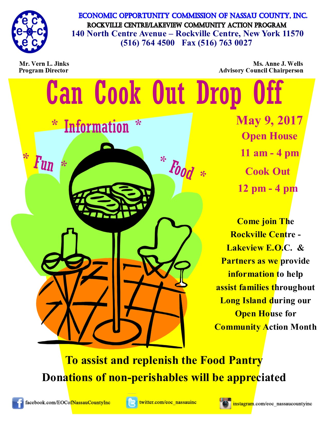 New york nassau county rockville centre - Rockville Centre Lakeview Eoc Open House Cook Out Can Drop Off Eoc Of Nassau County Inc Welcome