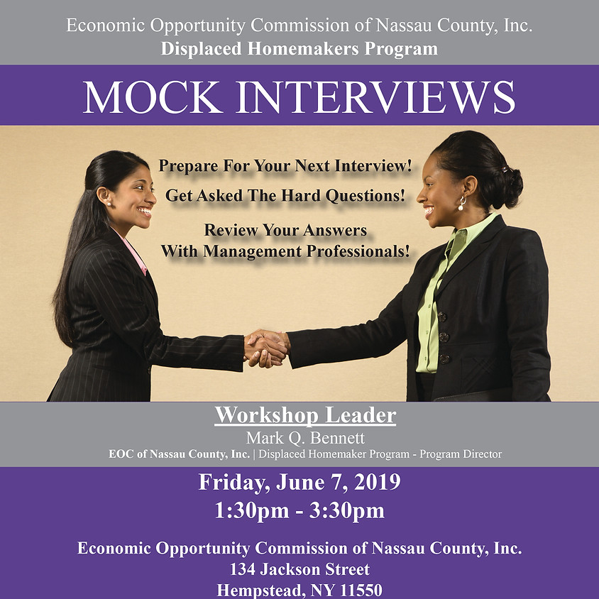 Mock Interviews 6-7-19