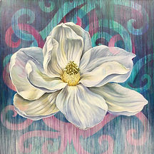 Silent Majesty Giclee print on canvas_California artist Lucy Liew.jpeg