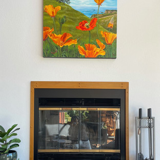 Lucy Liew floral wall art in California homes_210419_14.jpeg