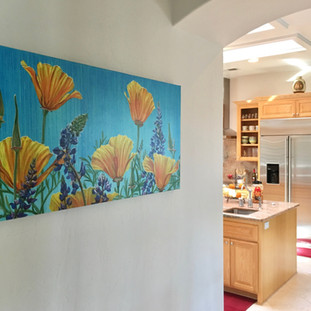 Lucy Liew floral wall art in California homes_190315_09.jpeg