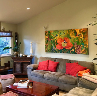 Lucy Liew floral wall art in California homes_190217_10.jpeg