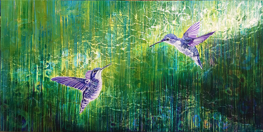 Come Fly With Me 3_Giclee print on canvas_California artist Lucy Liew.jpeg