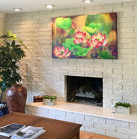 Lucy Liew floral wall art in California homes_180221_07.jpeg