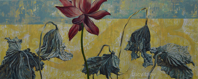 Reverence Giclee print on canvas_California artist Lucy LiewJPG.jpg