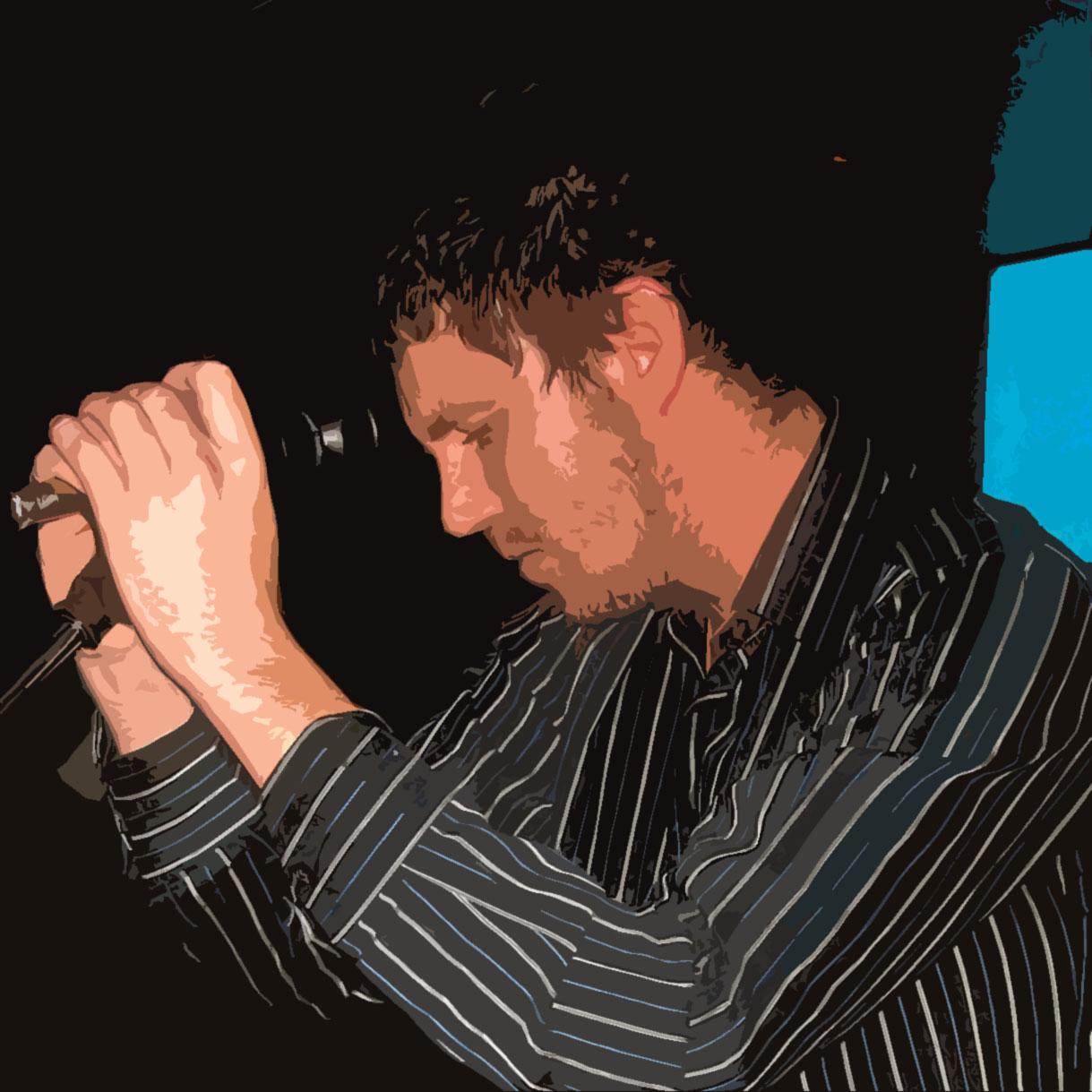 Robbie on stage - 2011