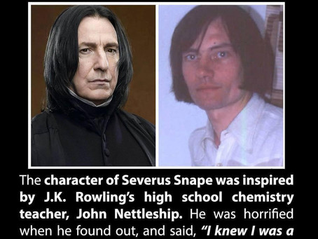 Perception V Reality; with the help of Severus Snape