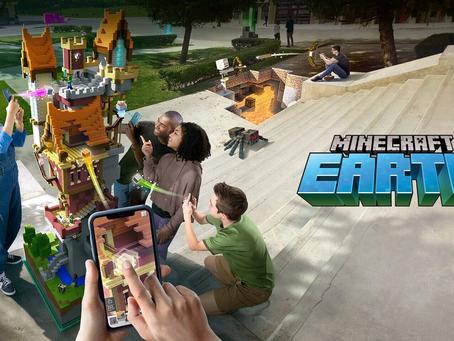 إيقاف لعبة الواقع المعزز Minecraft Earth