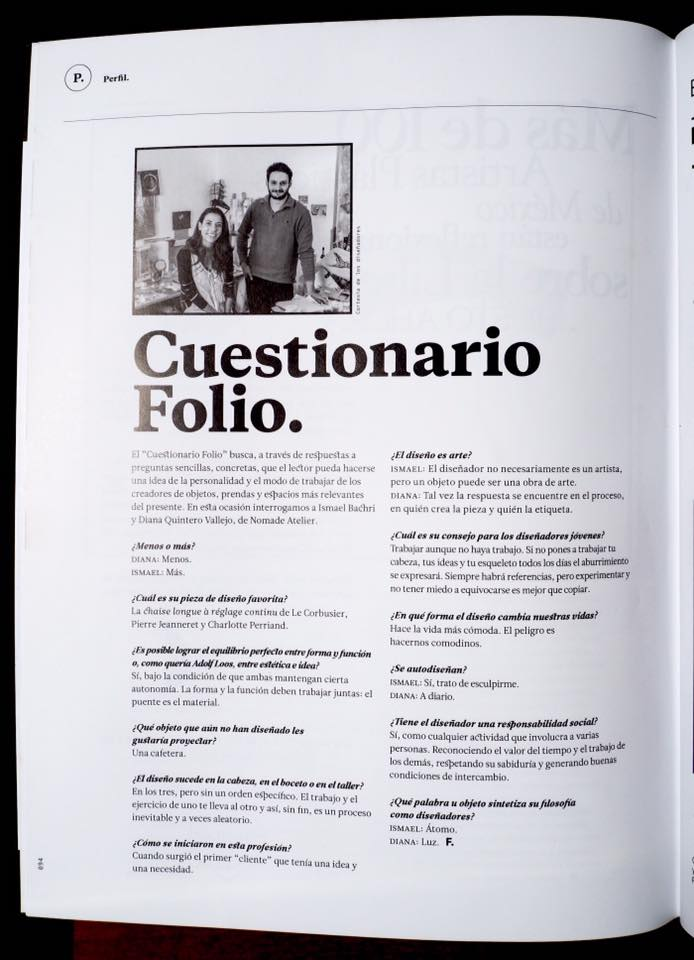 Cuestionario Folio